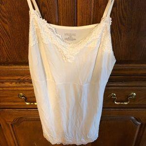 White lace Cami size 18/20 Lane Bryant